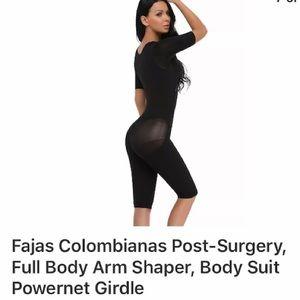 Fajas Colombianas Post Surgery Full Body Shaper